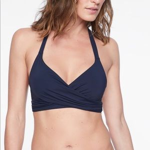 Athleta Bra Cup Wrap Bikini Top